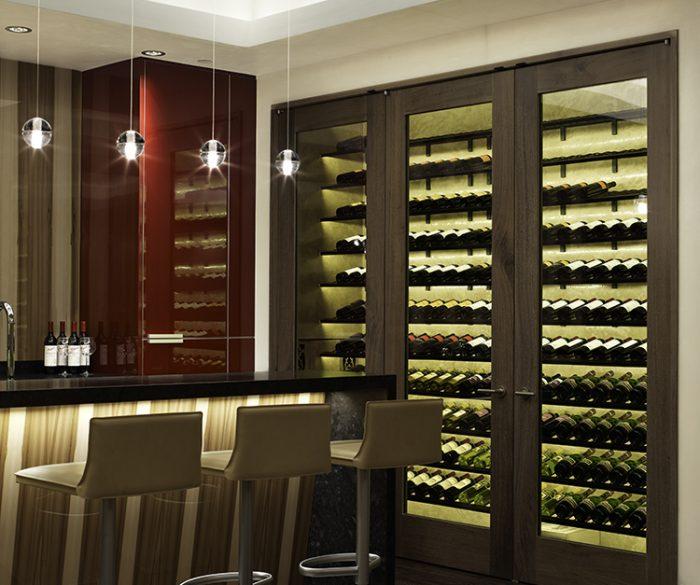 Kitchen Design Studio Wine Room